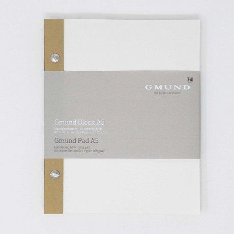 Gmund Block A5 Notizblock mit Schraubenbindung 1