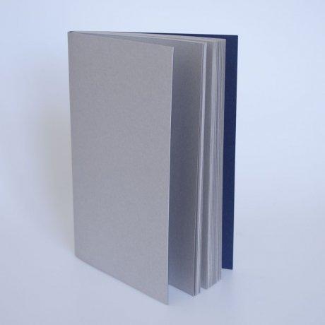Gmund Notizbuch GrauBlau A5 1