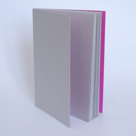 Gmund Notizbuch GrauPink A5 1