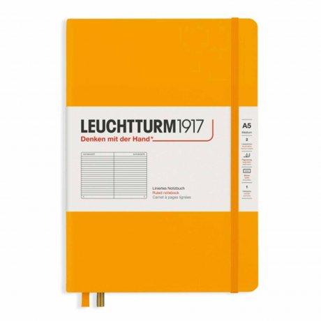 """Leuchtturm1917 Notizbuch Softcover """"M"""" rising sun liniert"""