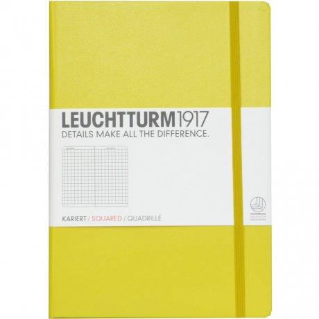 """Leuchtturm1917 Notizbuch """"M"""" zitrone liniert 1"""
