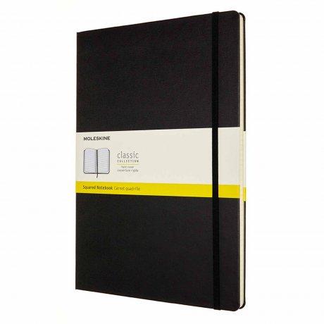 MOLESKINE® Notizbuch A4 schwarz kariert 1