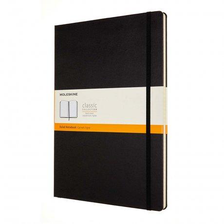 MOLESKINE® Notizbuch A4 Hardcover schwarz liniert 1