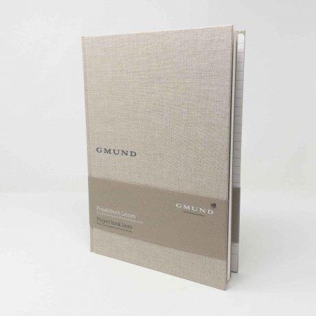Gmund Projektbuch Leinen pure A4 1