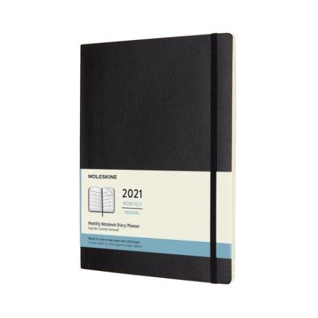 "MOLESKINE® Wochenkalender 2021 ""L"" horizontal rot 1"