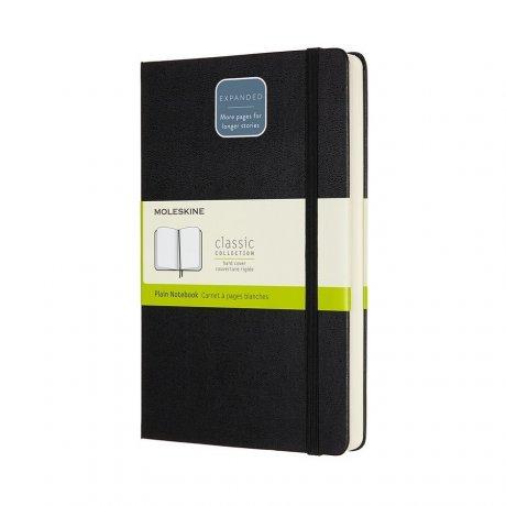 "MOLESKINE® Notizbuch ""L"" Hardcover schwarz blanko - expanded 1"