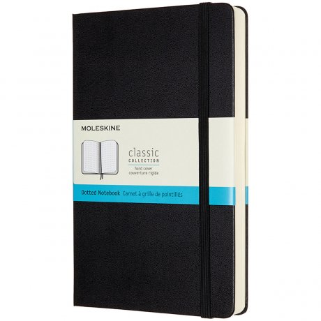 "MOLESKINE® Notizbuch ""L"" Hardcover schwarz dotted - expanded 1"