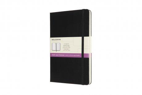 """MOLESKINE® Notizbuch """"L"""" Hardcover schwarz blanko/liniert 1"""