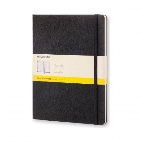 MOLESKINE Notizbuch XL schwarz kariert 1