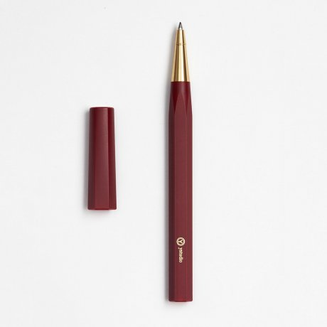 ystudio | Rollerball Pen Resin | Aus massivem Messing und Kunststoff in Rot von ystudio 1