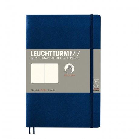 Leuchtturm1917 Paperback Softcover marine blanko 1