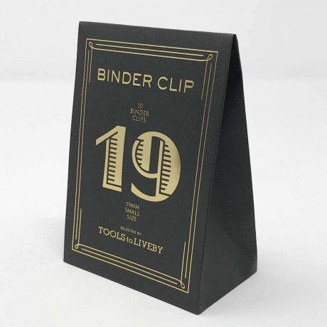 Binder Clips klein gold 1