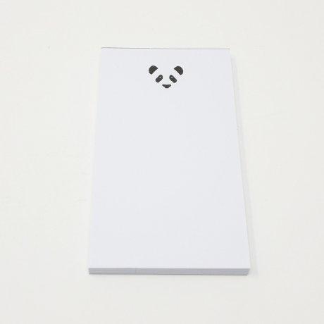 Kleiner Notizblock mit geprägtem Panda | Von Le Typographe 1