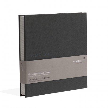 Gmund Papier Fotoalbum Leinen graphite 1