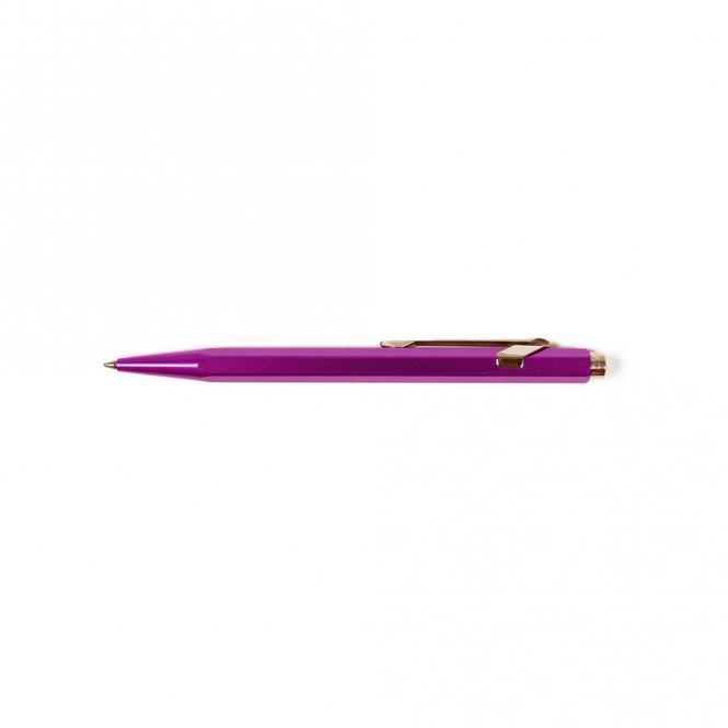 Caran d'Ache 849 Kugelschreiber lila