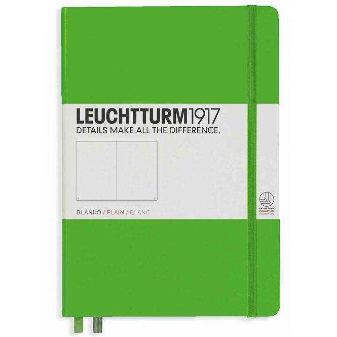 "Leuchtturm1917 Notizbuch ""M"" fresh green blanko"