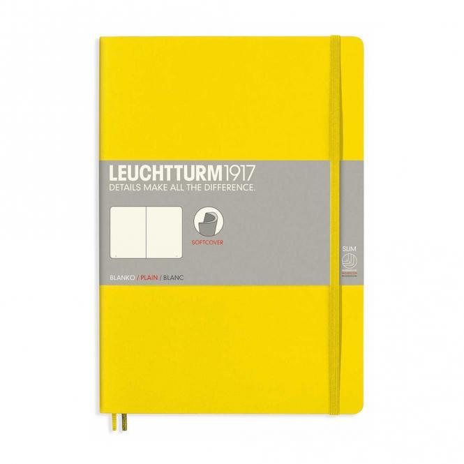 Leuchtturm1917 Notizbuch Softcover gelb blanko