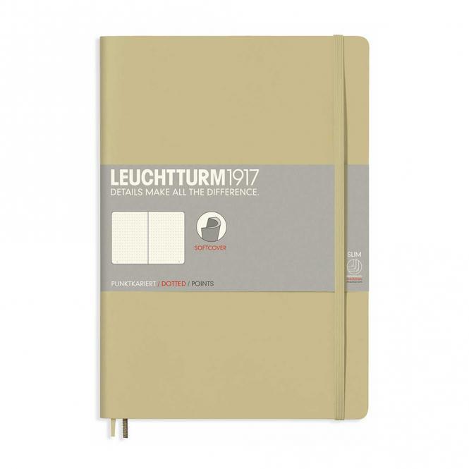 Leuchtturm1917 Notizbuch Softcover sand dotted