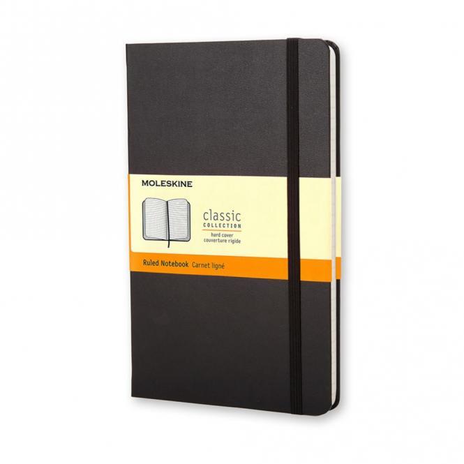 """MOLESKINE® Notizbuch """"S"""" schwarz liniert"""