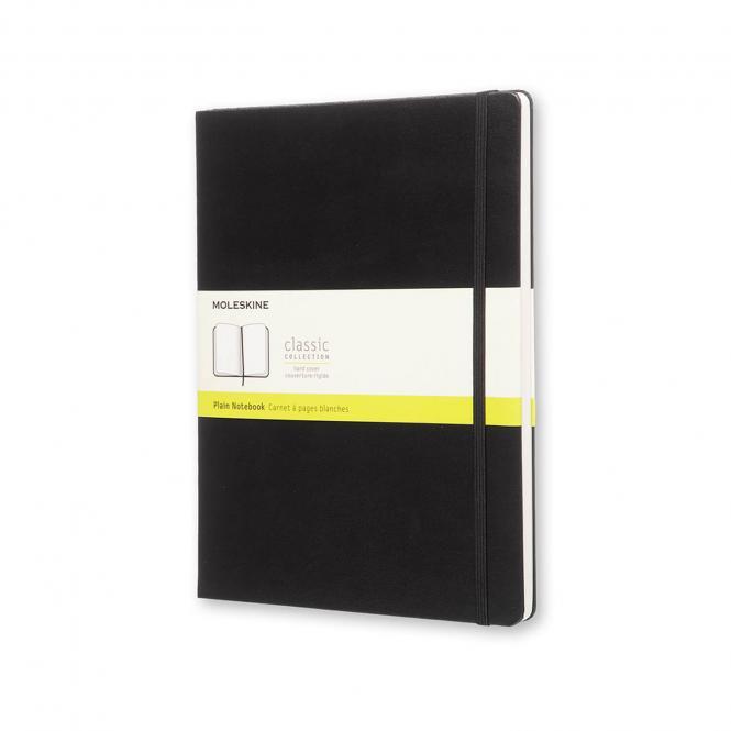 MOLESKINE® Notizbuch XL schwarz blanko