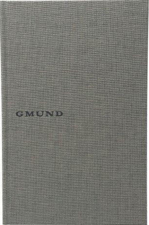 Gmund Projektbuch Leinen shade A5 2