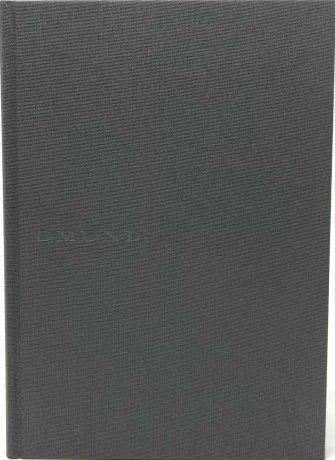 Gmund Projektbuch Leinen graphite A4 (midi+) 2