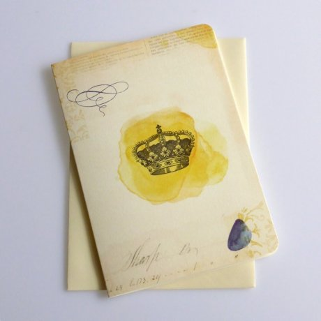 Grußkarte Krone 2