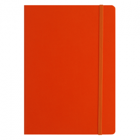"Leuchtturm1917 Notizbuch ""L"" slim orange dotted 2"