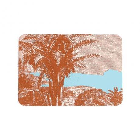 Grußkärtchen Palme 2