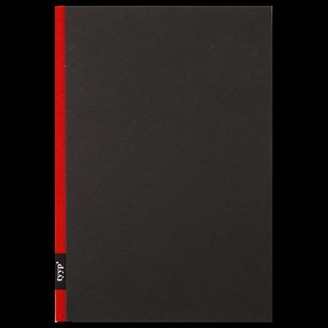 "tyyp Notizbuch ""A5"" schwarz/rot 2"