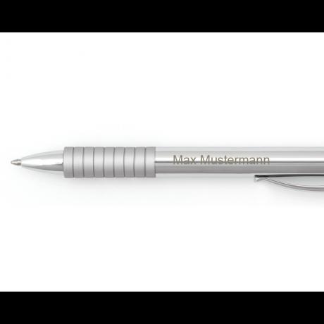 Faber-Castell Kugelschreiber Essentio Metall glänzend 2