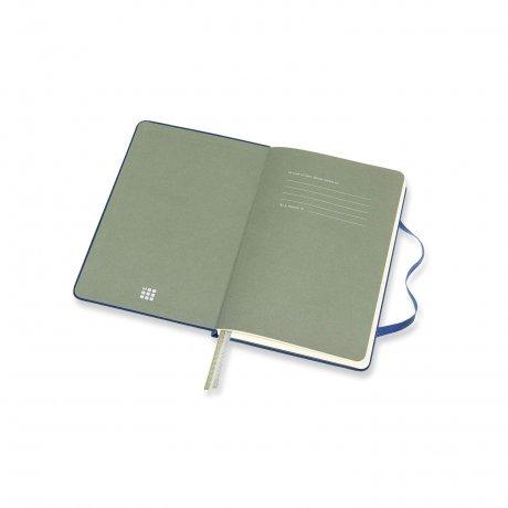 MOLESKINE® Two-Go Notizbuch Leineneinband blau 2