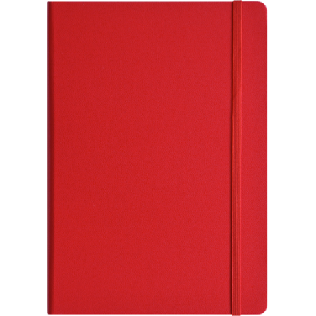"Leuchtturm1917 Notizbuch ""L"" rot blanko 2"