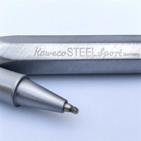 Kaweco Al Sport Rollerball Steel M | personalisierbar 2