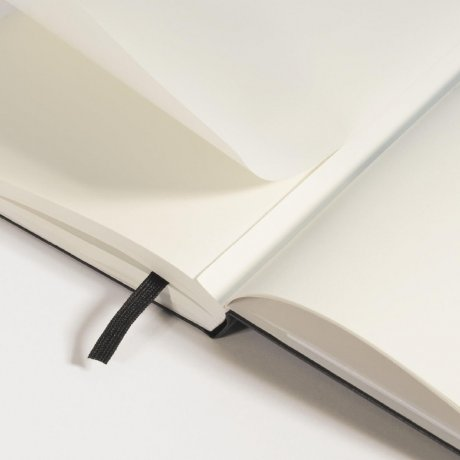 Leuchtturm1917 Notizbuch A4+ slim schwarz blanko 2