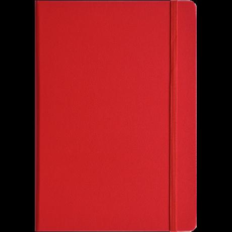"Leuchtturm1917 Notizbuch ""L"" rot liniert 2"
