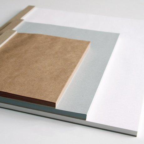 ITO Drawing Pad A5 Zeichenplatte braun 2