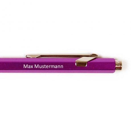 Caran d'Ache 849 Kugelschreiber lila 2