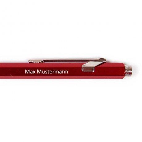 Caran d'Ache Kugelschreiber rot 2