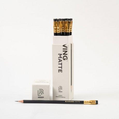 Bleistift Blackwing Matte | Set mit 12 Bleistiften 2