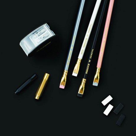 Blackwing Starting Point Set mit 4 Bleistiften - Spitzer - Radiergummis - Point Guards 2