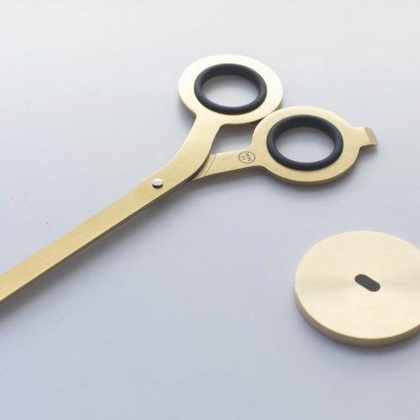 Schere von HMM | Japanischer Stahl gold 2