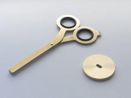 Schere von HMM | Japanischer Stahl roh 2