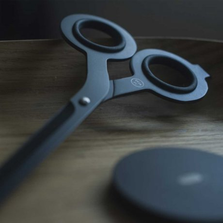 Schere von HMM | Japanischer Stahl schwarz 2