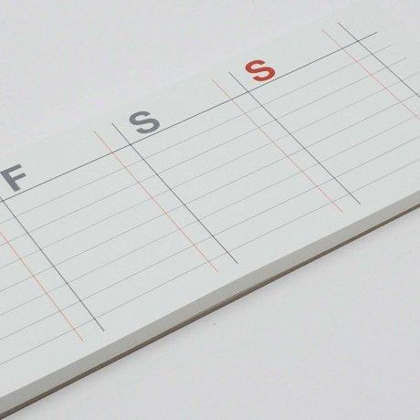 Wochenkalender post it | selbstklebender Kalender von jstory 2