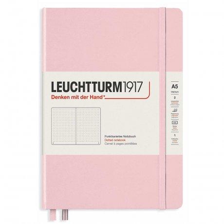 Leuchtturm1917 Notizbuch A5 mit Drehgriffel und penloop GRATIS Farbe puder 2