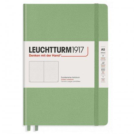 Leuchtturm1917 Notizbuch A5 mit Drehgriffel und penloop GRATIS Farbe salbei 2