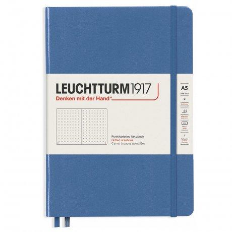 Leuchtturm1917 Notizbuch A5 mit Drehgriffel und penloop GRATIS Farbe denim 2