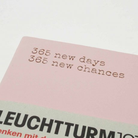 "Leuchtturm1917 Notizbuch Softcover ""M"" puder blanko 2"