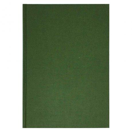 "Semikolon Classic Notizbuch ""S"" Leinen dunkelgrün 2"